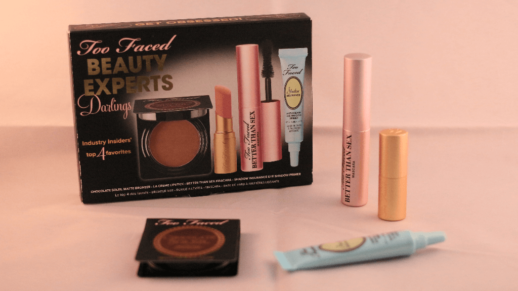 Revue du kit beauty experts darlings de too faced