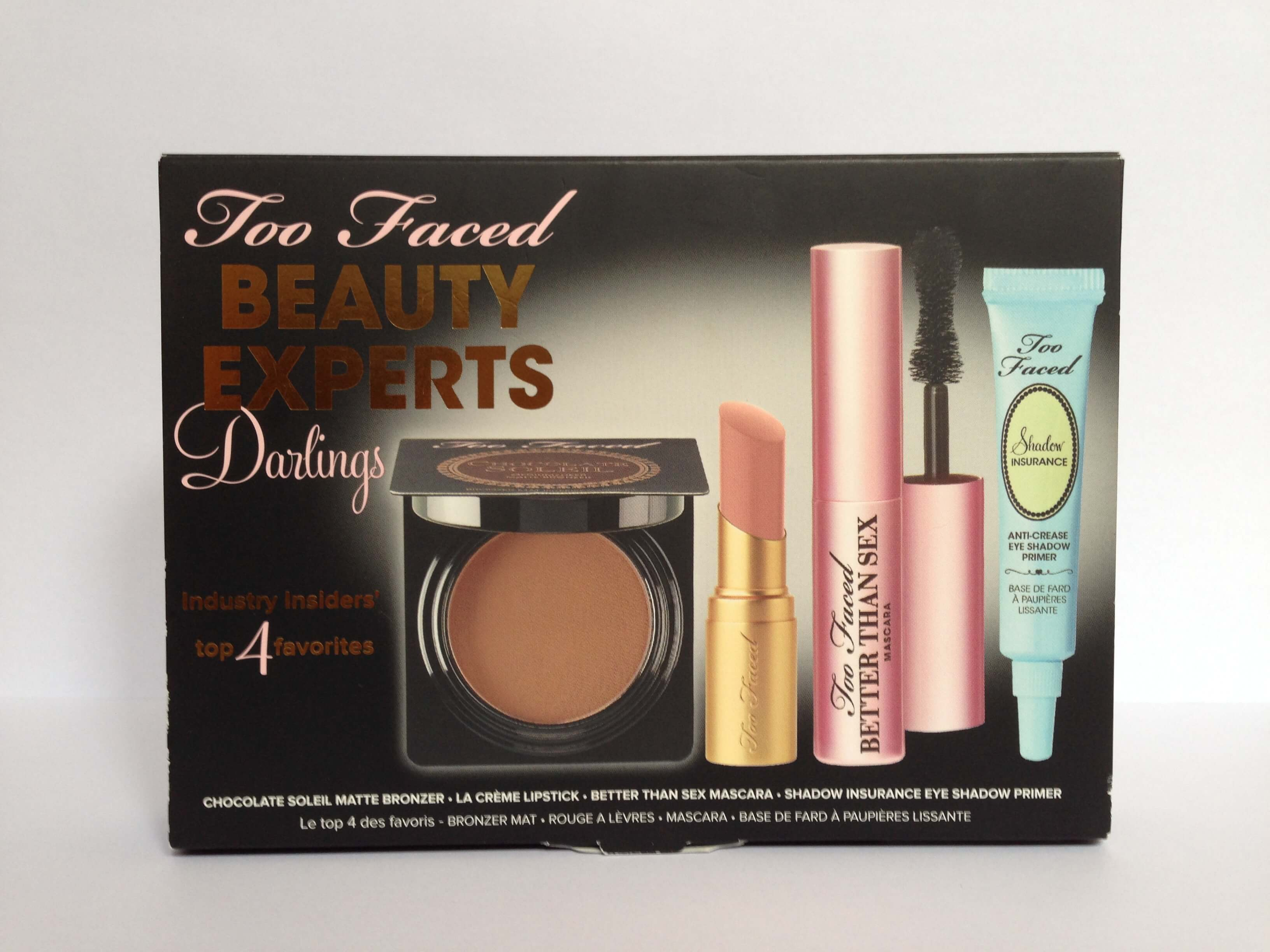 Kit beauty experts darlings de too faced