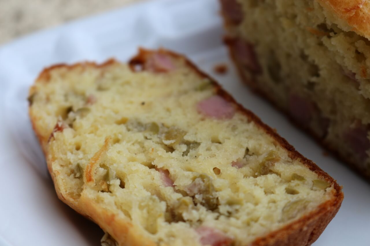 Cake Moelleux Au Jambon Fromage