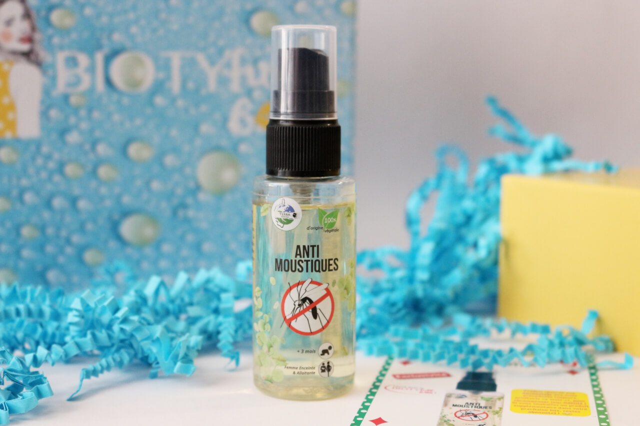 Spray anti moustiques Terra Nostra