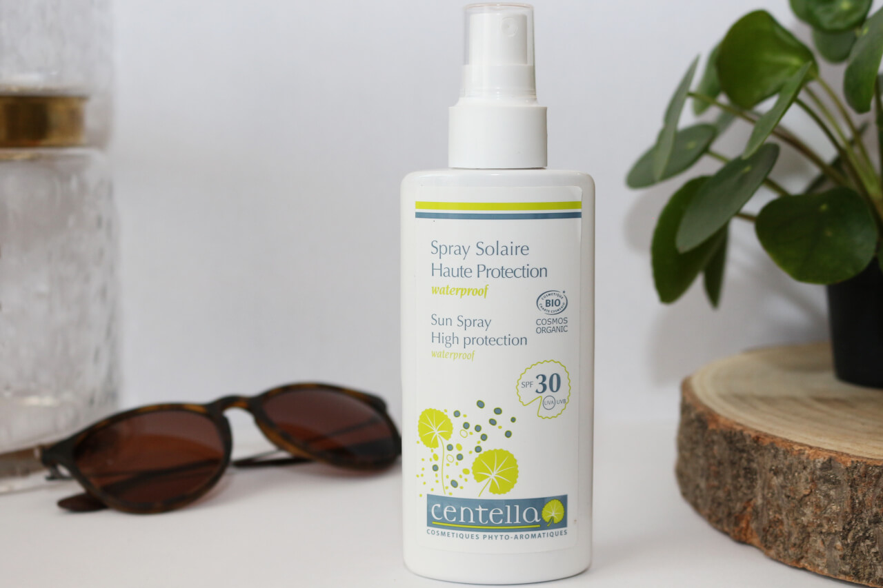 Centella Spray Solaire Haute Protection Waterproof spf 30