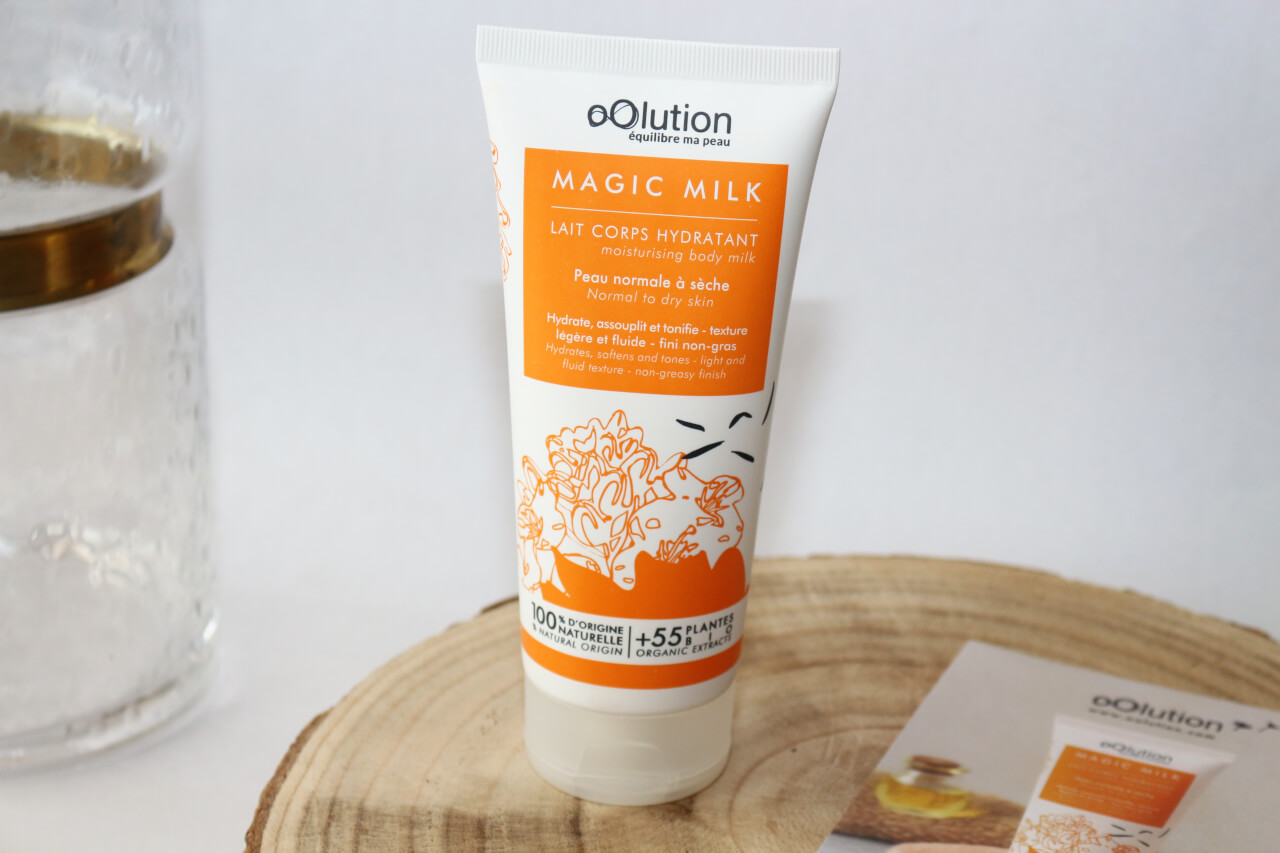 oOlution Magic Milk lait corps hydratant