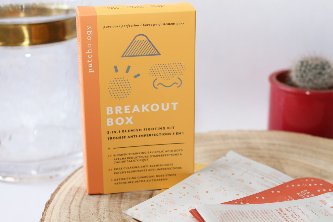 Revue du kit anti-imperfections Breakout Box de Patchology