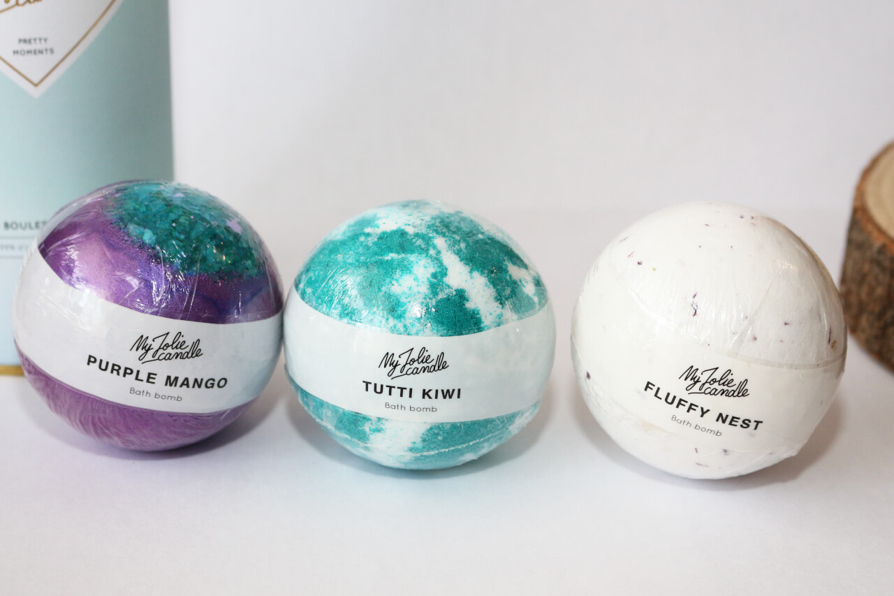 Trio Boules de Bain Pretty Moments My Jolie Candle