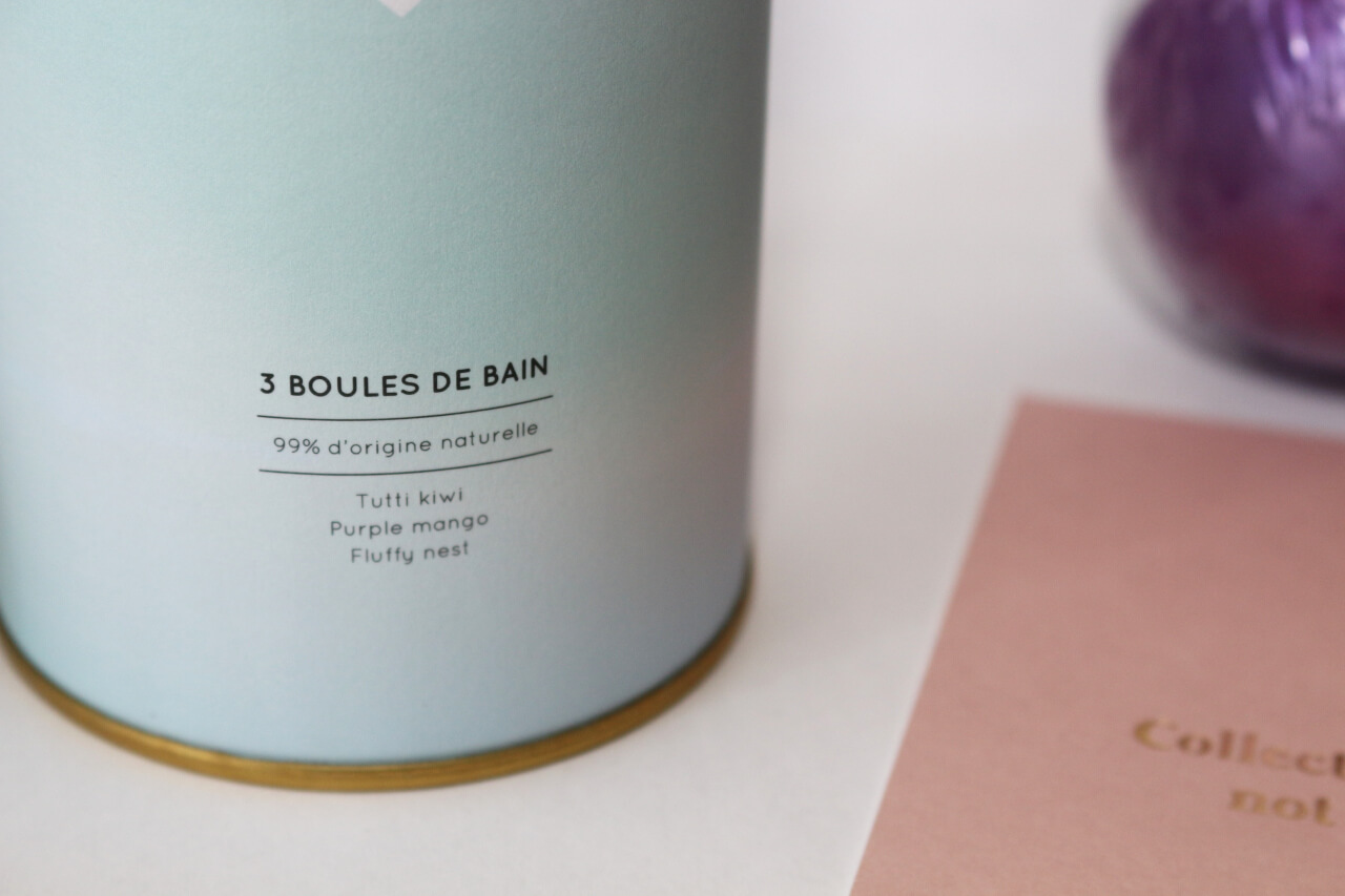 3 Boules de bain Coffret Pretty Moments