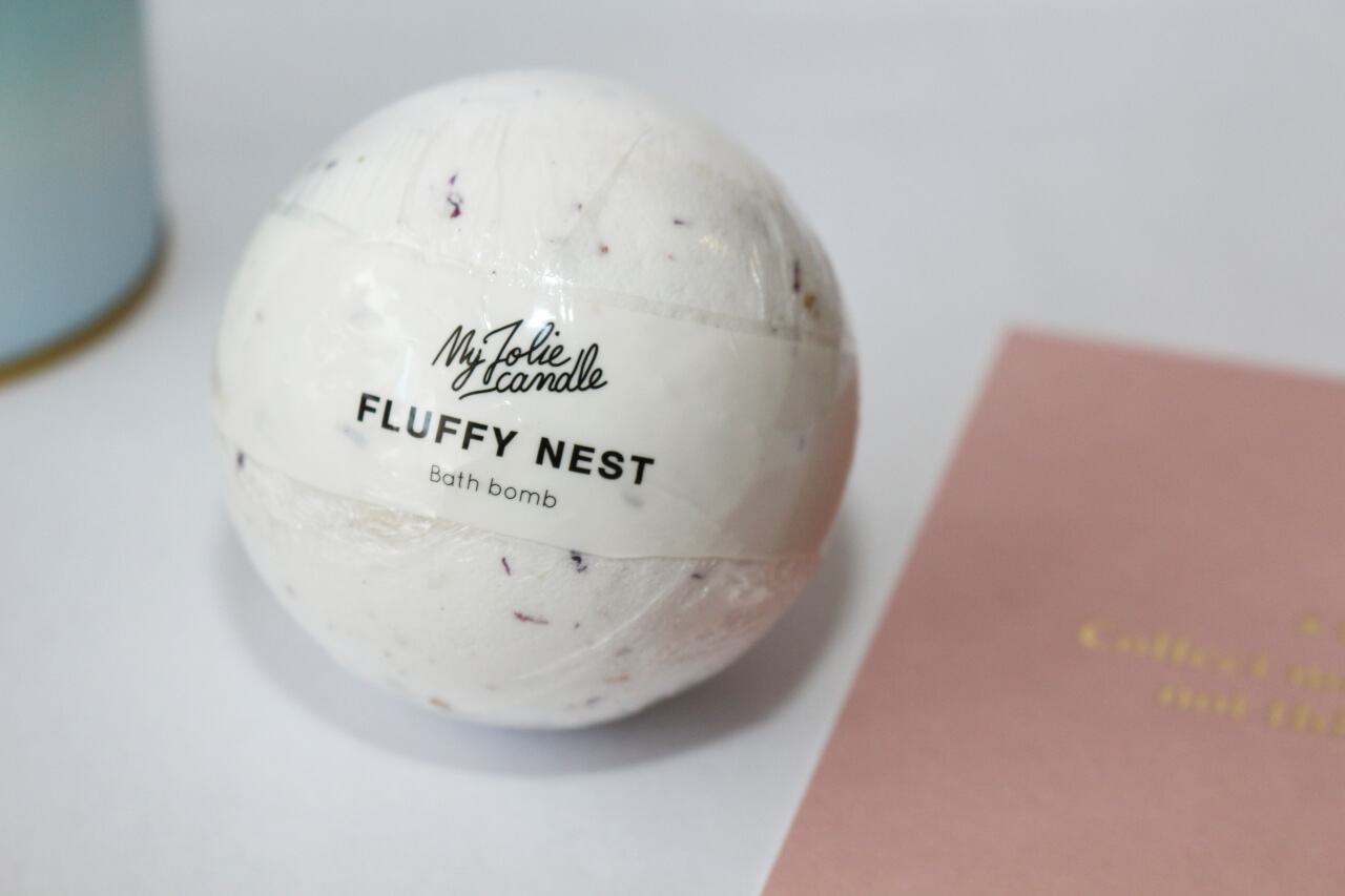 Fluffy Nest Bath Bomb de My Jolie Candle
