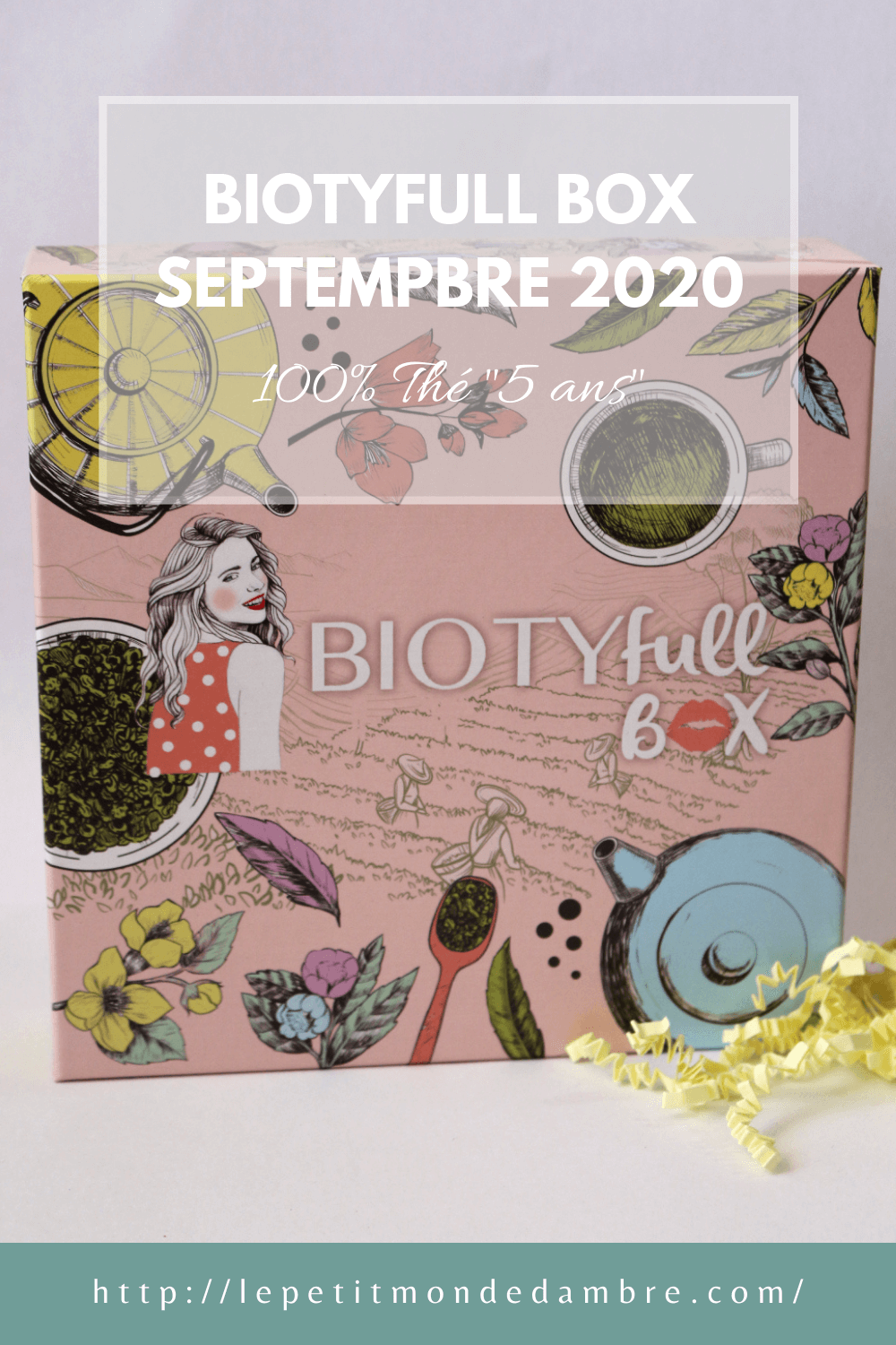 Epingle pinterest article Biotyfull box septembre 2020 100% thé